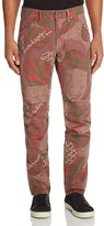 G Star Elwood X25 African Print New Tapered Fit Jeans by Pharrell Williams