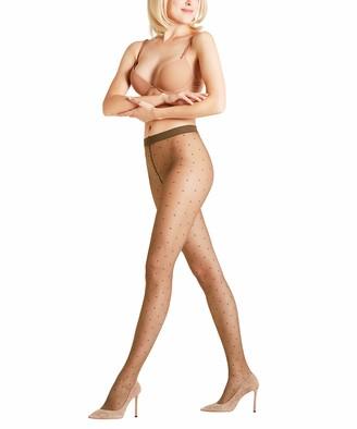 Falke Women Dot Tights - Sheer Matt