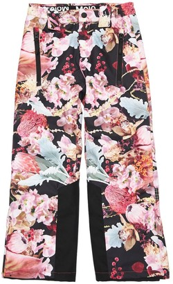 Molo All Over Print Nylon Ski Pants