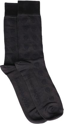 Alexander McQueen Allover Skull Socks
