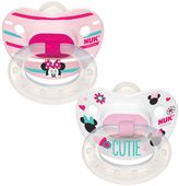 Disney's Minnie Mouse 0-6 Months 2-pk. Orthodontic Pacifiers by NUK