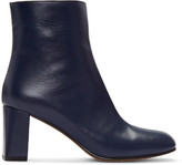 Maryam Nassir Zadeh Navy Agnes Boots