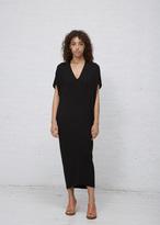 Zero Maria Cornejo black long koya dress