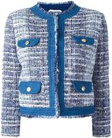 Pierre Balmain tweed jacket - women - Cotton/Acrylic/Polyamide/Viscose - 38