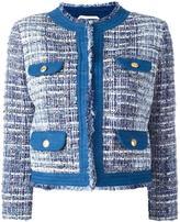 Pierre Balmain tweed jacket - women - Cotton/Acrylic/Polyamide/Viscose - 44