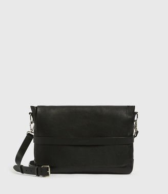 AllSaints Talbot Leather Messenger Bag