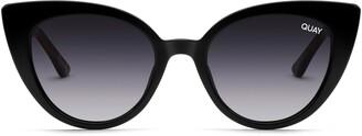 Quay Audacious 52mm Gradient Cat Eye Sunglasses