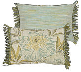 Rose Tree Antibes Fringed Floral Breakfast Pillow