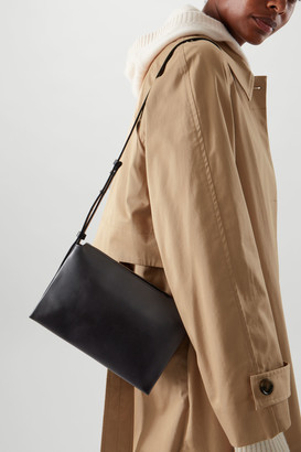 Cos Leather Crossbody Bag