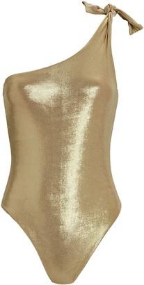 Sara Cristina Nerea One-Shoulder One-Piece Swimsuit