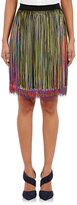 Christopher Kane WOMEN'S CHAINETTE-FRINGE SKIRT SIZE 6 UK