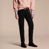 Burberry Skinny Fit Regimental Jeans