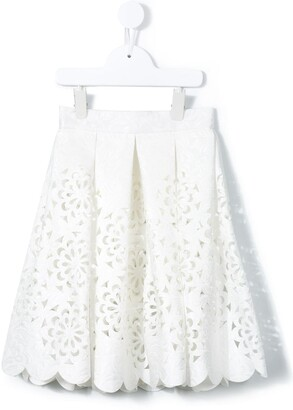 Little Bambah Cut Out Pleated Skirt