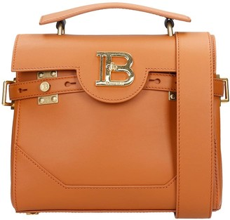 Balmain Bbuzz 23 Hand Bag In Leather Color Leather