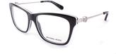 Michael Kors Black & White Abela IV Eyeglasses