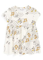 Mini Rodini Infant Girl's Music Dress