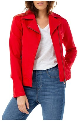 Liverpool Moto Jacket (Red Ginger) Women's Clothing