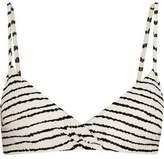 Vix Zerba Seve Striped Bikini Top
