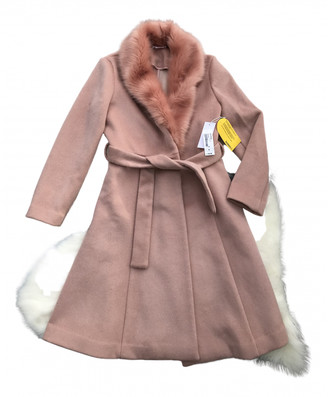 Reformation Pink Wool Coats