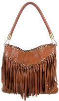 Michael Kors Fringe Leather Shoulder Bag