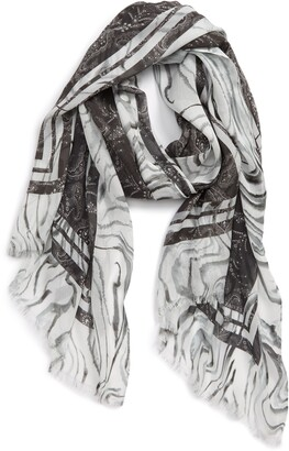 AllSaints Rosey Paisley Scarf