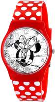 Ingersoll Women's IND25819 Minnie Wrist Art Analog Display Quartz Red Watch