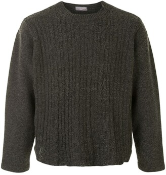 Comme Des Garçons Pre-Owned Boxy Knitted Jumper
