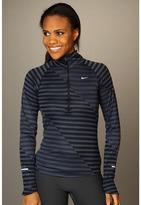 Nike Element Jacquard HZ (Black/Thunder Blue/Reflective Silver) - Apparel