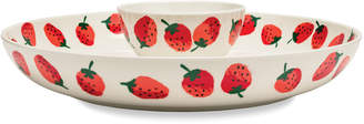 Kate Spade Strawberries Chip & Dip Bowl