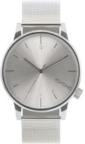 Komono Silver Winston Royale Watch