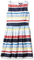 Tommy Hilfiger Girl's Isle Sleeveless Striped Dress