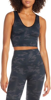 Spanx Look at Me Now Seamless Crop Top