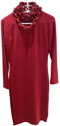 Diane von Furstenberg Red Cotton Dresses