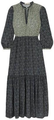 Vanessa Bruno Mabel Tiered Floral-print Crepe Maxi Dress