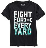 Under Armour Toddler Boy's Fight For Every Yard Heatgear T-Shirt