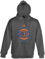 adidas New York Knicks Promo Fleece Hoodie - Boys 8-20