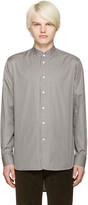Marc Jacobs Grey Micro Stripe Shirt