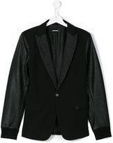 Diesel bomber blazer jacket - kids - Polyester/Polyurethane/Spandex/Elastane/Rayon - 14 yrs