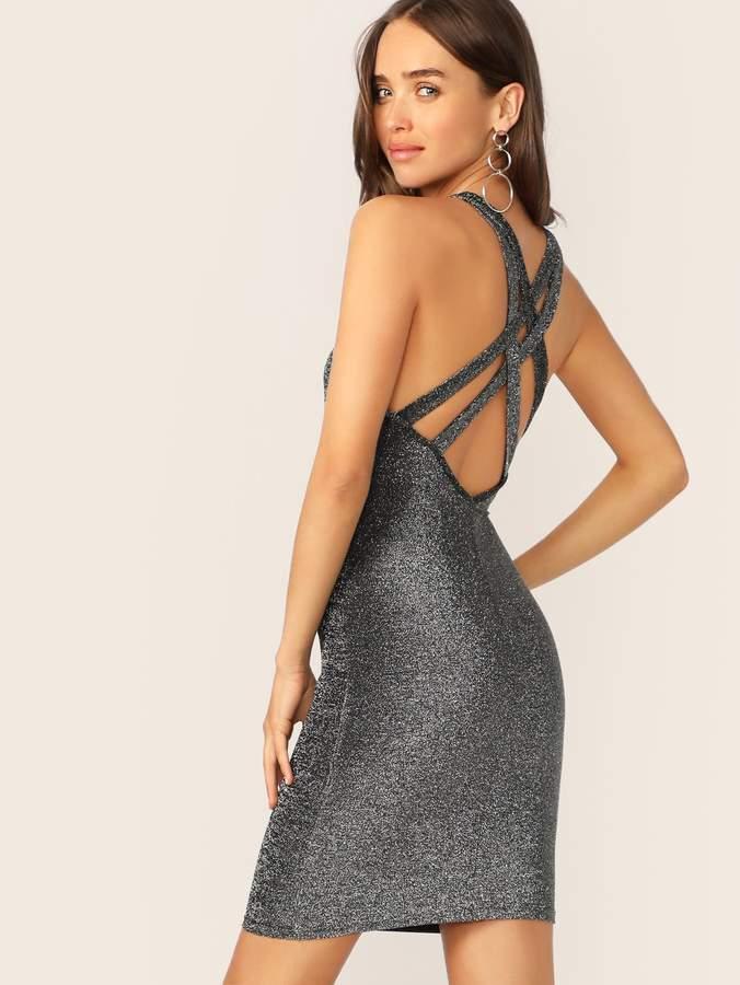 8a53cc87907 Silver Bodycon Dresses - ShopStyle