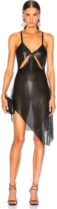 Fannie Schiavoni Metal Mesh Dress in Black | FWRD
