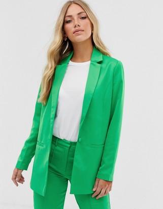Vila oversized suit blazer-Green