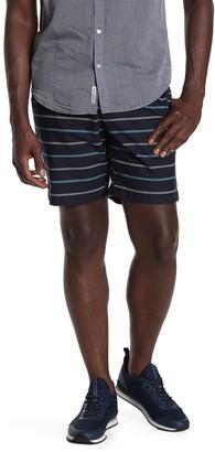 Original Penguin Slim Striped Shorts