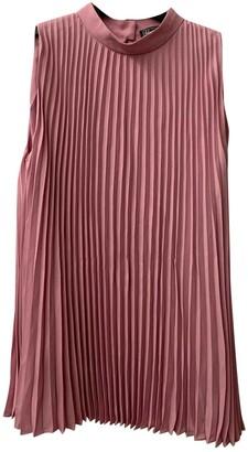 Salvatore Ferragamo Pink Silk Top for Women