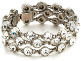 Ben-Amun Three Row Crystal Bracelet