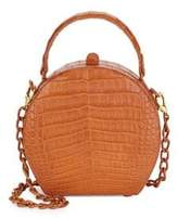 Nancy Gonzalez Billie Crocodile Box Bag