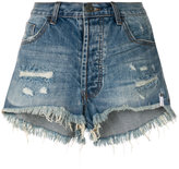 One Teaspoon distressed denim shorts