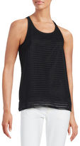 DKNY Sleeveless Razor Back Shirt