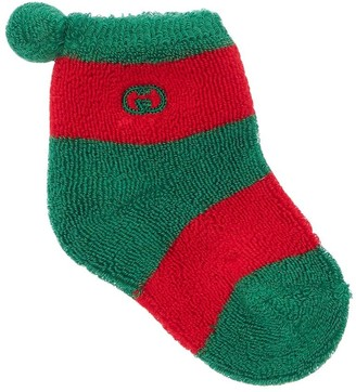 Gucci Cotton Blend Knit Socks