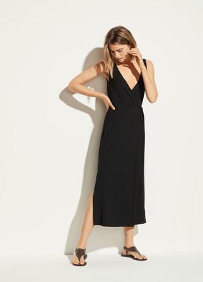 Vince V-Neck Wrap Dress