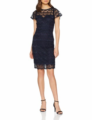 Paper Dolls Women's Frill Sleeve Dress